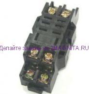 Колодка для реле LY-2 на дин-рейку